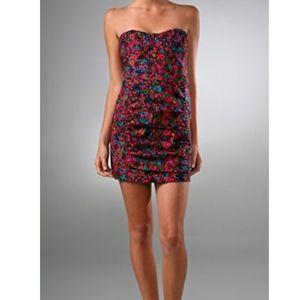 Nanette Lepore Dresses - NWOT Nanette Lepore floral cocktail dress size 2